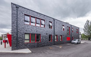 Sapa systems offer 21st century performance for 1960's fire station refurb