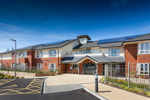 Elite 70 specified for flagship care home development