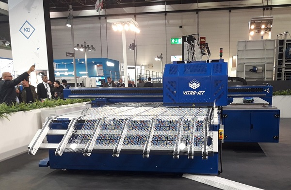 Fenzi technologies take center stage at Glasstec 2018
