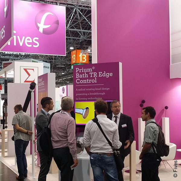 Fives at glasstec