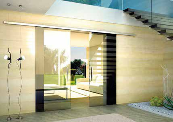 Colcom introduces FLO, a new sliding system with spandrel panel, for glass doors