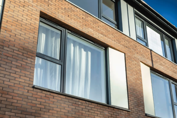 Flush Tilt and Turn windows provide the solution for The Strand | Profile 22