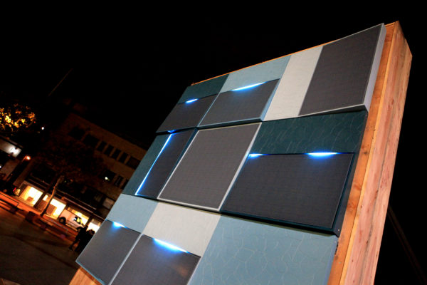 Generate solar energy with design solar panels on your façade!