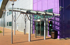 ​glass canopies with real impact