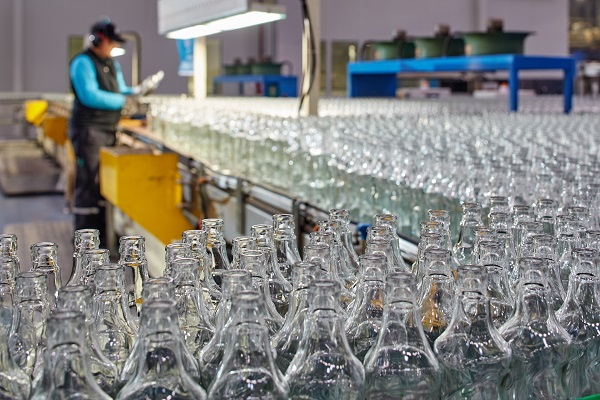 glass packaging production