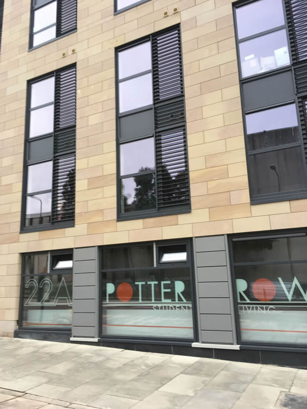 GG deliver complete glazing solution at Edinburgh student accommodation scheme