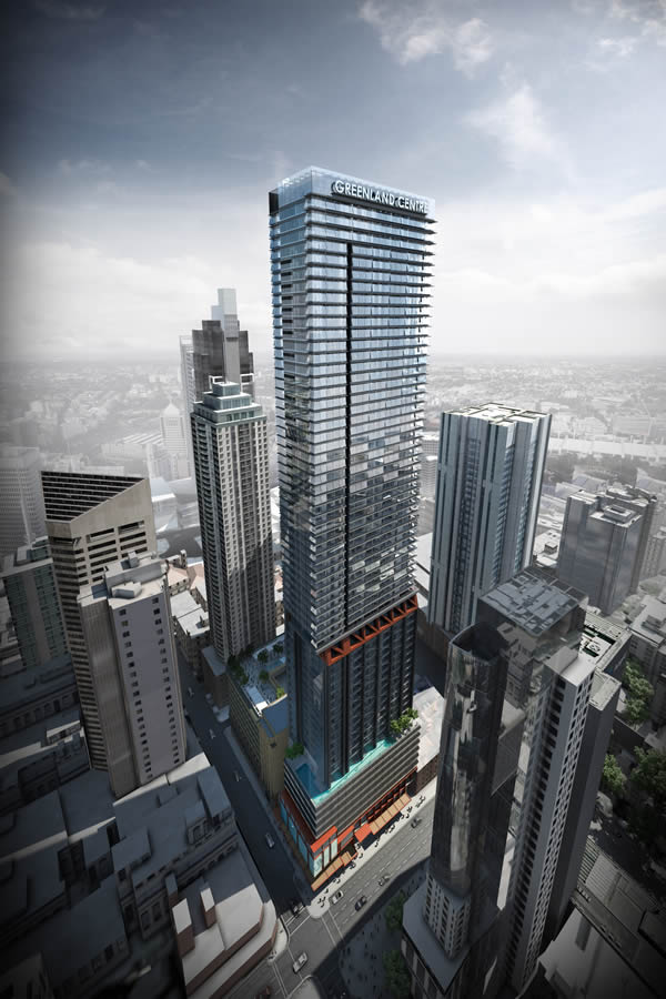 Probuild to build Sydney CBD's tallest residential tower, Greenland Centre