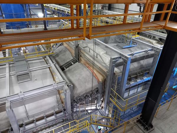 HORN® ignites 400 t/d G2 furnace at GCA