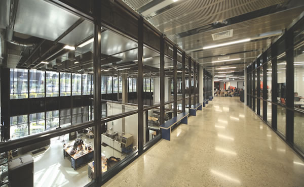 How Viridian's glass created a contemporary and collaborative learning environment