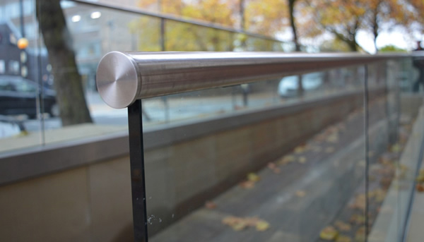 Top of the class with University Structural Glass Balustrade Installation