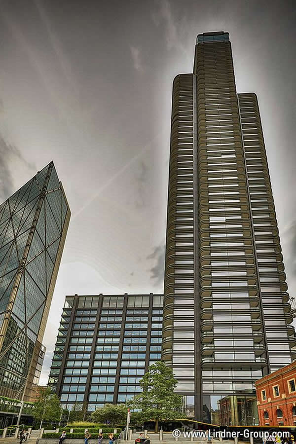 Lindner Facades delivers extensive scope of works for Principal Tower