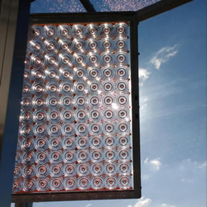 Material Xperience 2017 exhibits transparent solar panels Lumiduct
