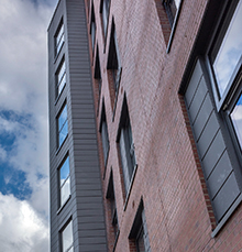 Apartment Blocks in Manchester Achieve Secured By Design Safety Standards with Technal Windows and Doors