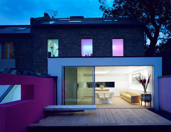 KELLER minimal windows® to contemporary new build home in London featured on Grand Designs