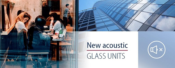133 acoustic glass units in Press Glass' portfolio