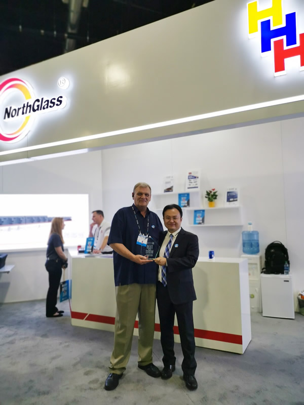 NorthGlass receives Best In Show Award at GlassBuild America 2019