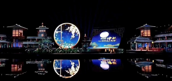 NorthGlass Element Appears at The Mid-Autumn Festival Gala Held by CCTV