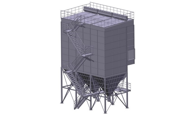 low-voltage pulse dust collector