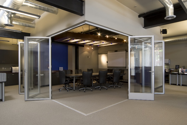 Operable Glass Walls that Completely Changed a Building