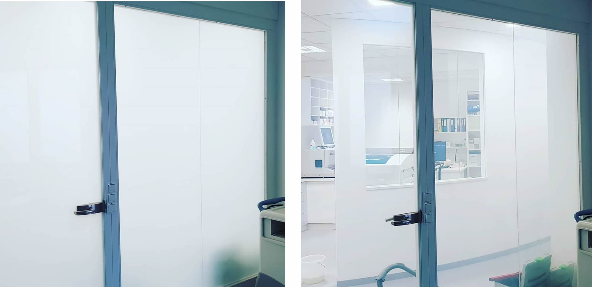 Switchable privacy smart glass