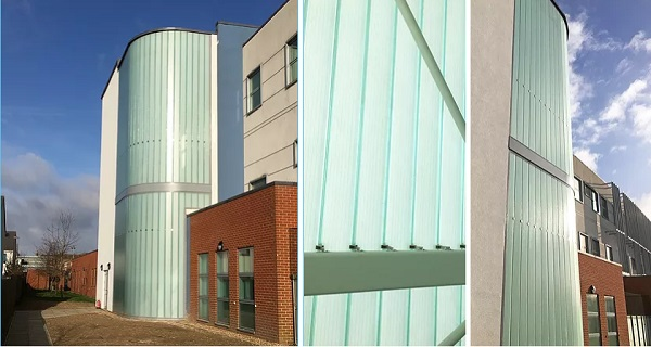 Glazed Profilit™ Stairwell For Colchester Health Care