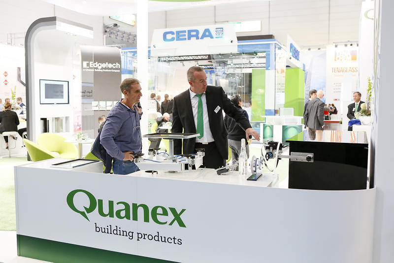 Quanex presenting its Super Spacer® TriSealTM Premium Plus.