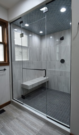 In addition to the unframed, thick glass, a US-specific trend is toward building ever-bigger bathrooms. So, the demand for larger-sized glass is growing considerably