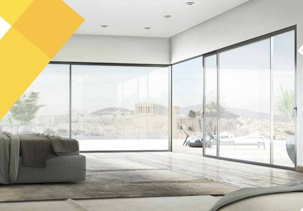 The DWL Architectural S440 Sliding door