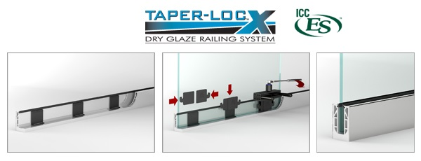 New Safety-Seal Helps Glaziers Install Glass Railings Faster and with Less Risk of Injury