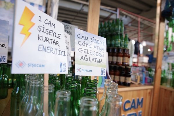 Şişecam Group recycled 1 million tons of glass wastes