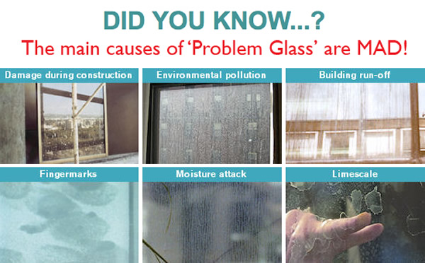 Solutions for 'Problem Glass' in Buildings Before, During and After Installation