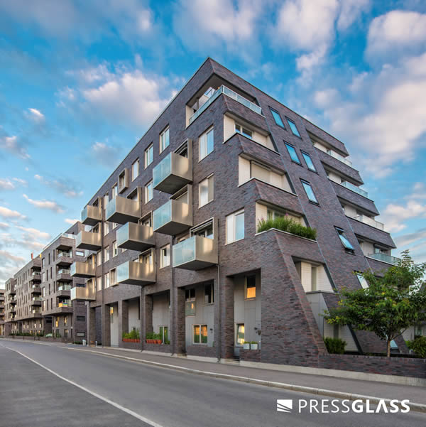 Sørenga residential complex with glass units from Press Glass