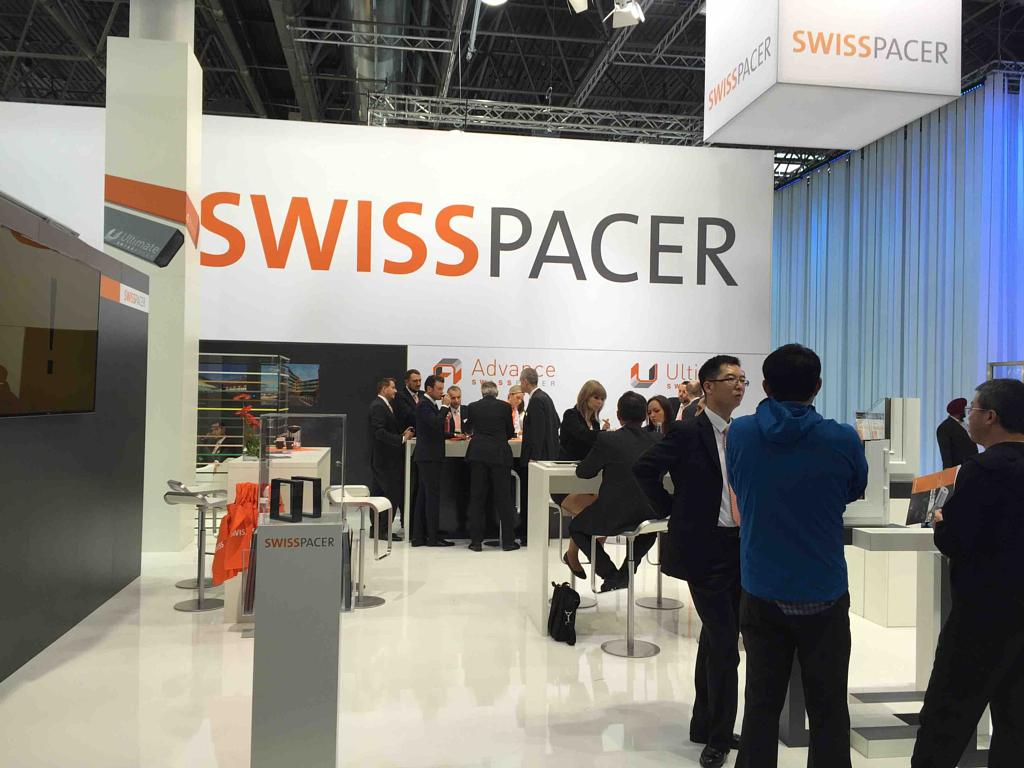 swisspacer launching a new product at the exhibition in Hall 11, Stand G42.