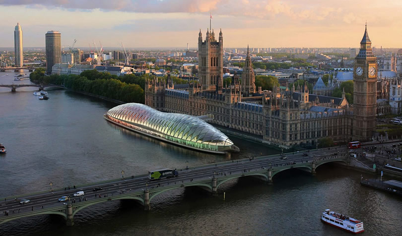 Gensler Unveils Radical Concept for Temporary UK Parliament