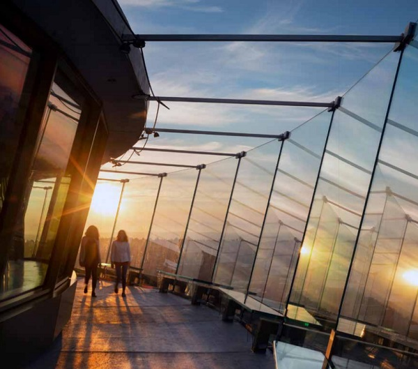 Space Needle experience completely revitalised thanks to advanced interlayer technology.