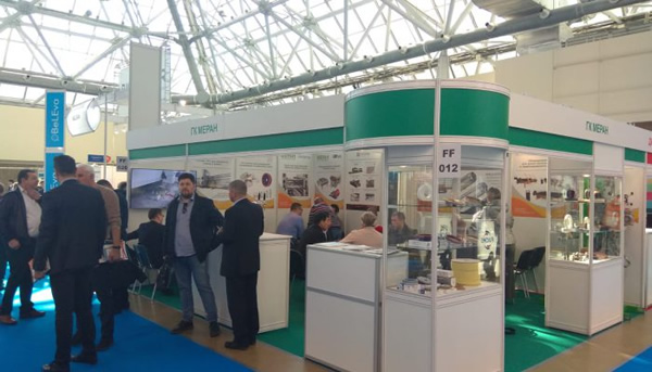 Turomas at Mir Stekla, the largest glass fair in Russia