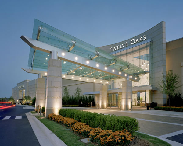 Twelve Oaks Mall is a full line super-regional shopping mall with over stores which is located in Novi, Michigan, a suburb of Detroit. The mall is located on the Northeast corner of Interstate 96 and Novi .