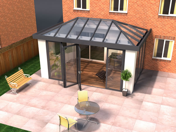 URBANroom - The Complete Modern Glazed Extension