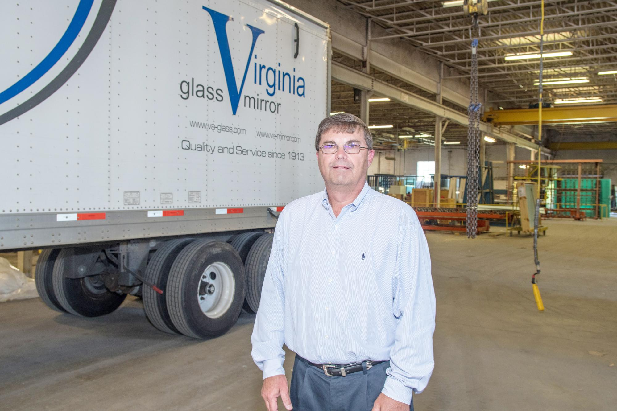 L.W. Deal, Vice President of Administration Virginia Glass Products Corp., Virginia Mirror Company Inc.