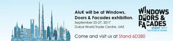 AluK at the 2017 Windows, Doors and Facades event