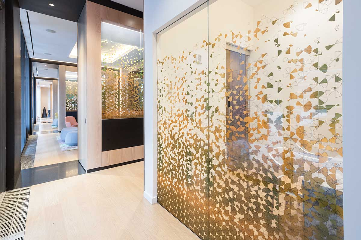 Ggi project the ashland - Interior glass wall designs for houses ...