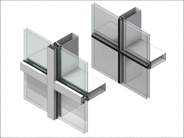 Thermawall Tw2200 2 50 8mm Curtain Wall That Delivers