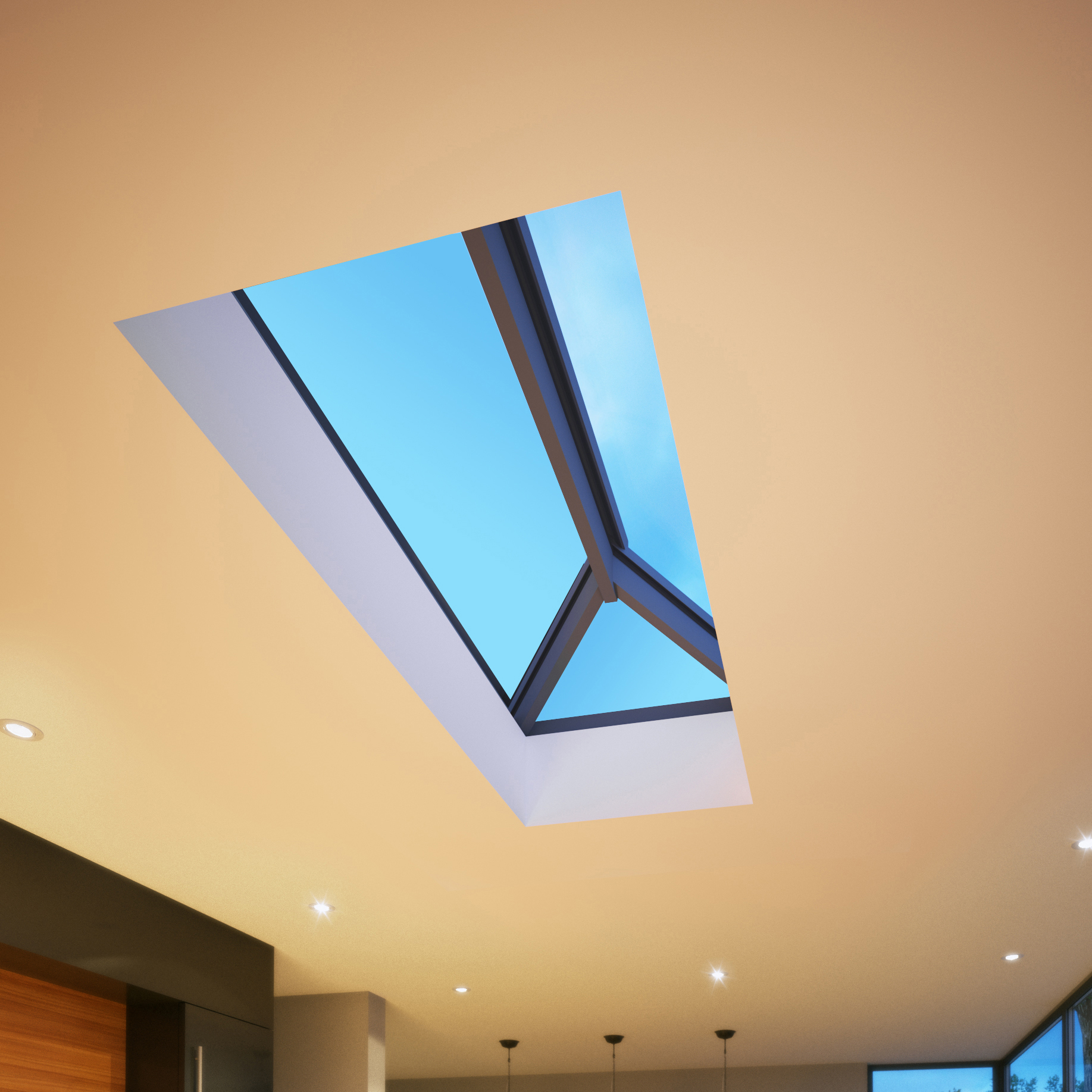 Alufolddirect S All Aluminium Roof Lantern Glassonweb Com