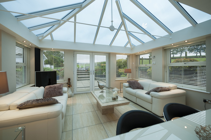 Conservatory Glass Roofs From Prefix Glassonweb Com