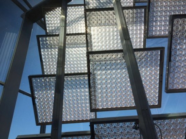 Material Xperience 2017 Exhibits Transparent Solar Panels