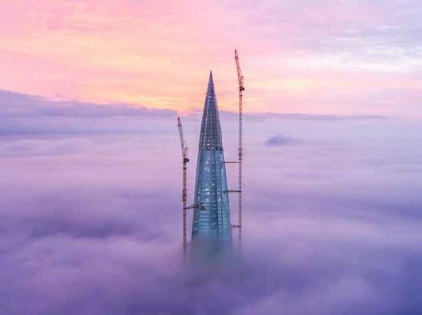 Trosifol® in Europe's Tallest Building | glassonweb.com