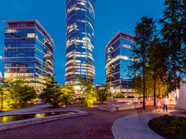 Warsaw Spire Crowned Best Office Amp Business Development At