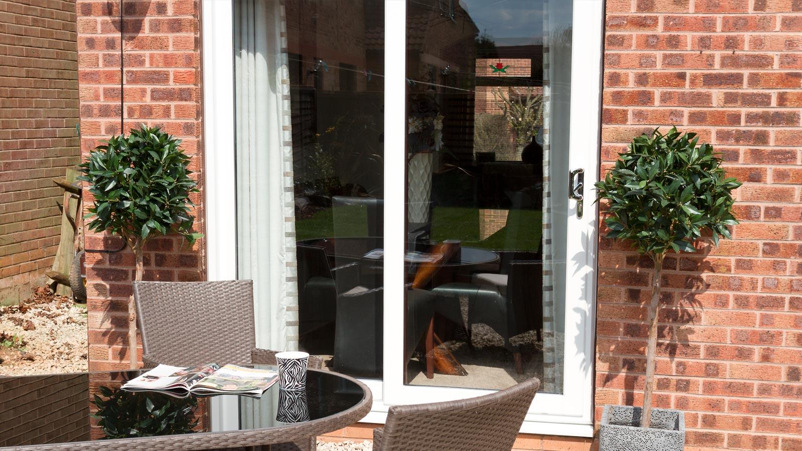 Jack of glass for Upvc sliding patio doors