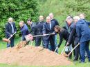 Groundbreaking ceremony for innovative office building | HORN Glass Industries