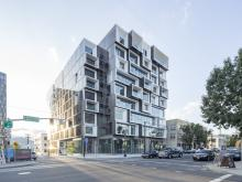 Slate, Portland's new, LEED Gold, mixed-use, transit-oriented development, features Wausau's windows, doors and curtainwall